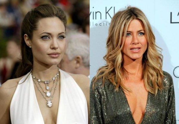 Дженнифер Энистон впервые предложила Анджелине Джоли тайно встретиться