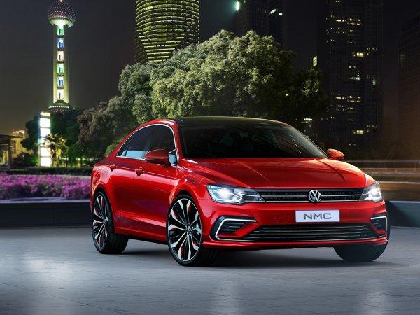 На рынок вышел седан Volkswagen Jetta нового поколения