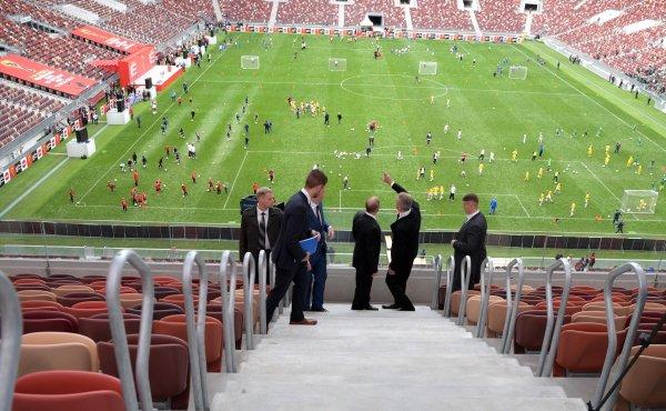 На матч сборных Бразилии и России продали 65 тыс билетов