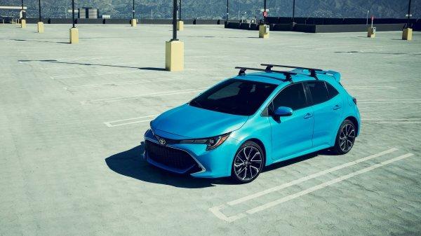 Рассекречен новый Toyota Corolla Hatchback для США