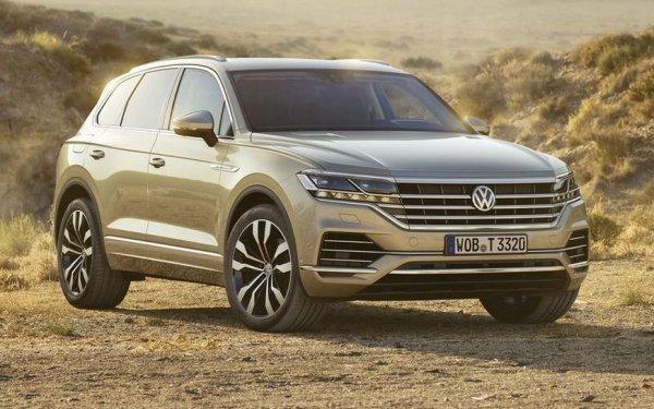 Представлен новый внедорожник Volkswagen Touareg