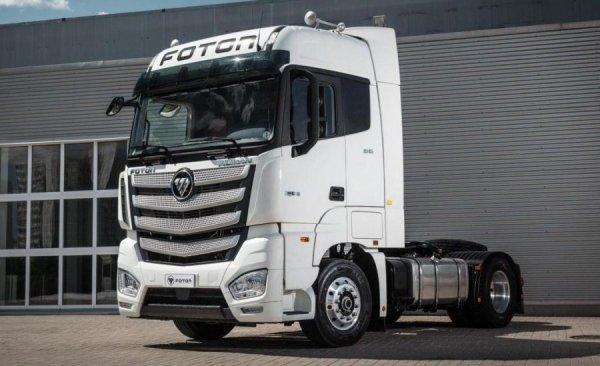 Foton Motor представила новый тягач Auman EST с современными опциями