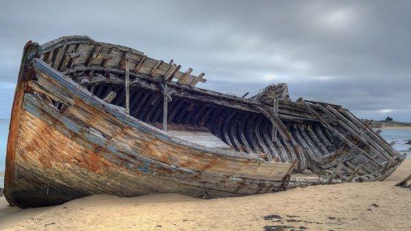 В США строители обнаружили древние останки кораблей