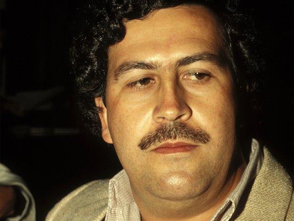 Колумбийка встретилась с призраком наркобарона Пабло Эскобара