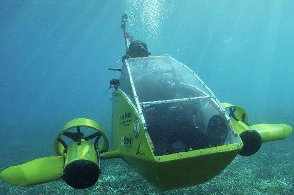 В Иркутске ученые создали систему управления группировкой подводных роботов