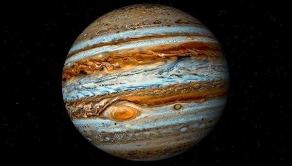 NASA продемонстрировало «приведение» на поверхности Юпитера