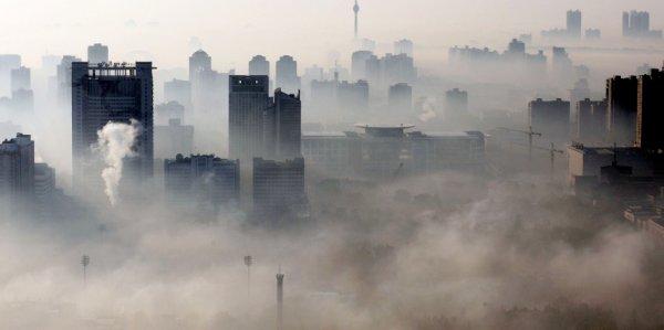 В Пекине объявлен оранжевый уровень тревоги в связи с резким ухудшением качества воздуха