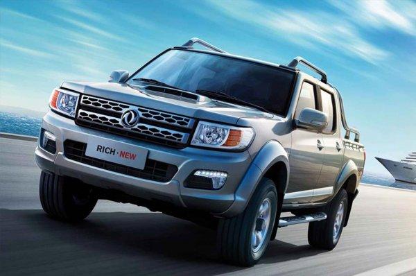 Стартовали продажи обновленного пикапа Dongfeng Rich на базе Nissan Navara