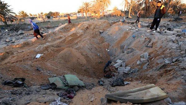 ВВС США нанесли авиаудар по лагерю боевиков в Ливии