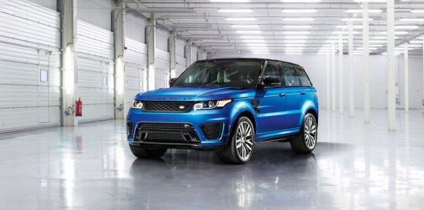 Внедорожник Range Rover Sport SVR получит экстремальную версию