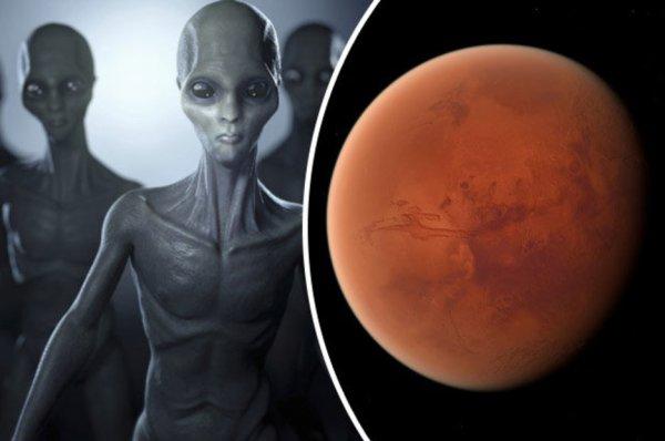 Аппарат Opportunity сфотографировал на Марсе скелет гуманоида