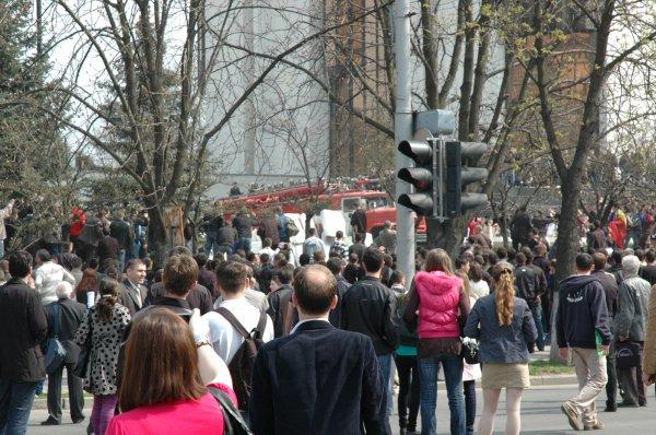 В Кемерово митингующие настаивают на отставке Тулеева