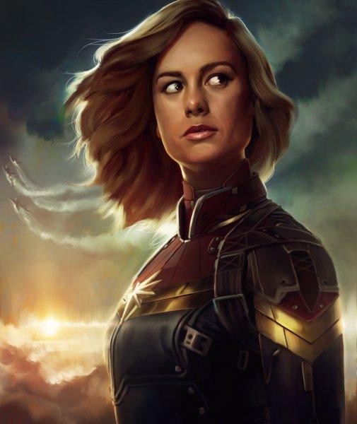 В США киностудия Marvel начала съемки кинокартины «Капитан Марвел»