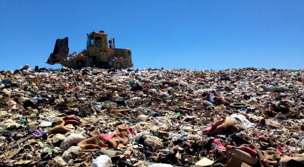 В Подмосковье ежегодно поступает более 10 миллионов тонн мусора