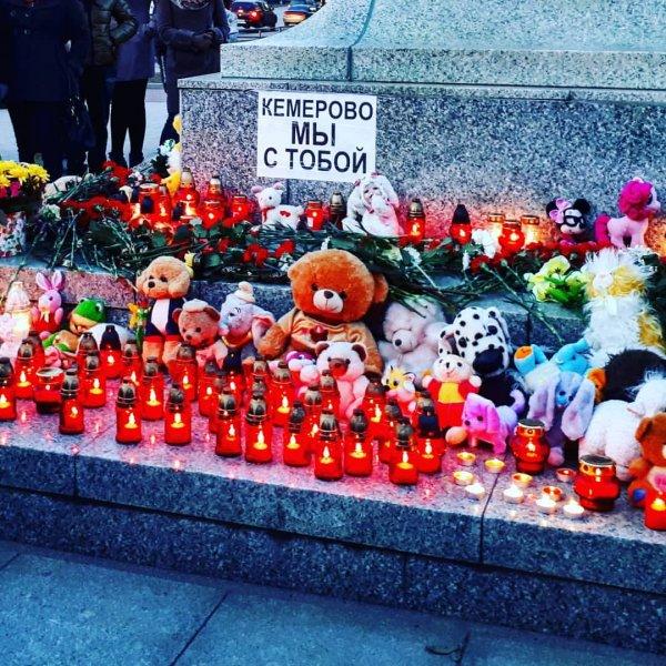 В Белоруссии приспустили флаги в память о погибших в Кемерово