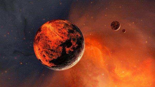 Ученые предполагают, что магнитное поле Марса уничтожила вода