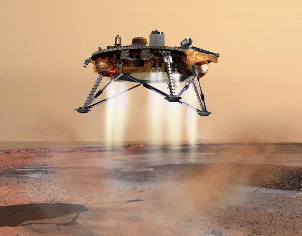 NASA запустит на Марс зонд InSight в ноябре 2018 года