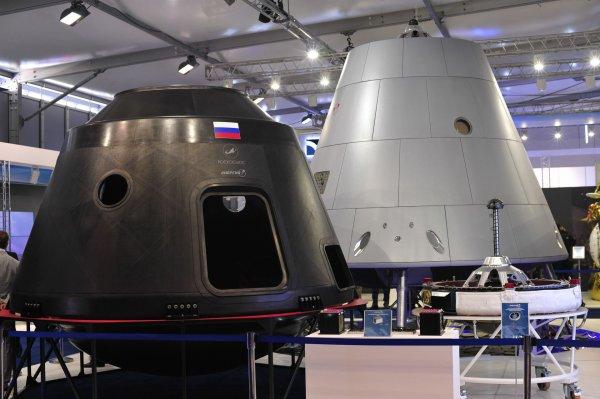 Первым на космическом корабле «Федерация» полетит брат робота «Федора»