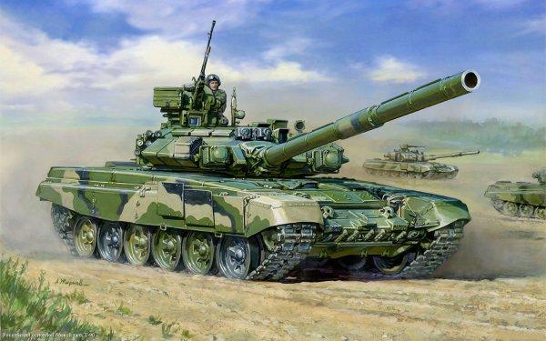 В 2018 году российские военные получат новую модель танка Т-90