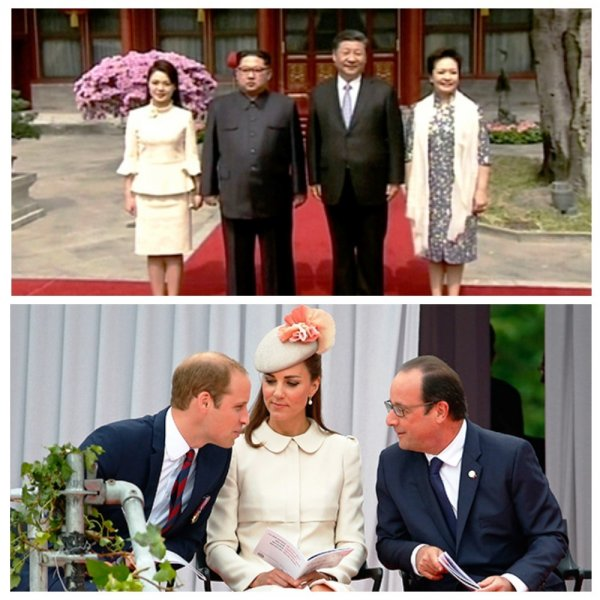 Жена Ким Чен Ына одевается как Кейт Миддлтон