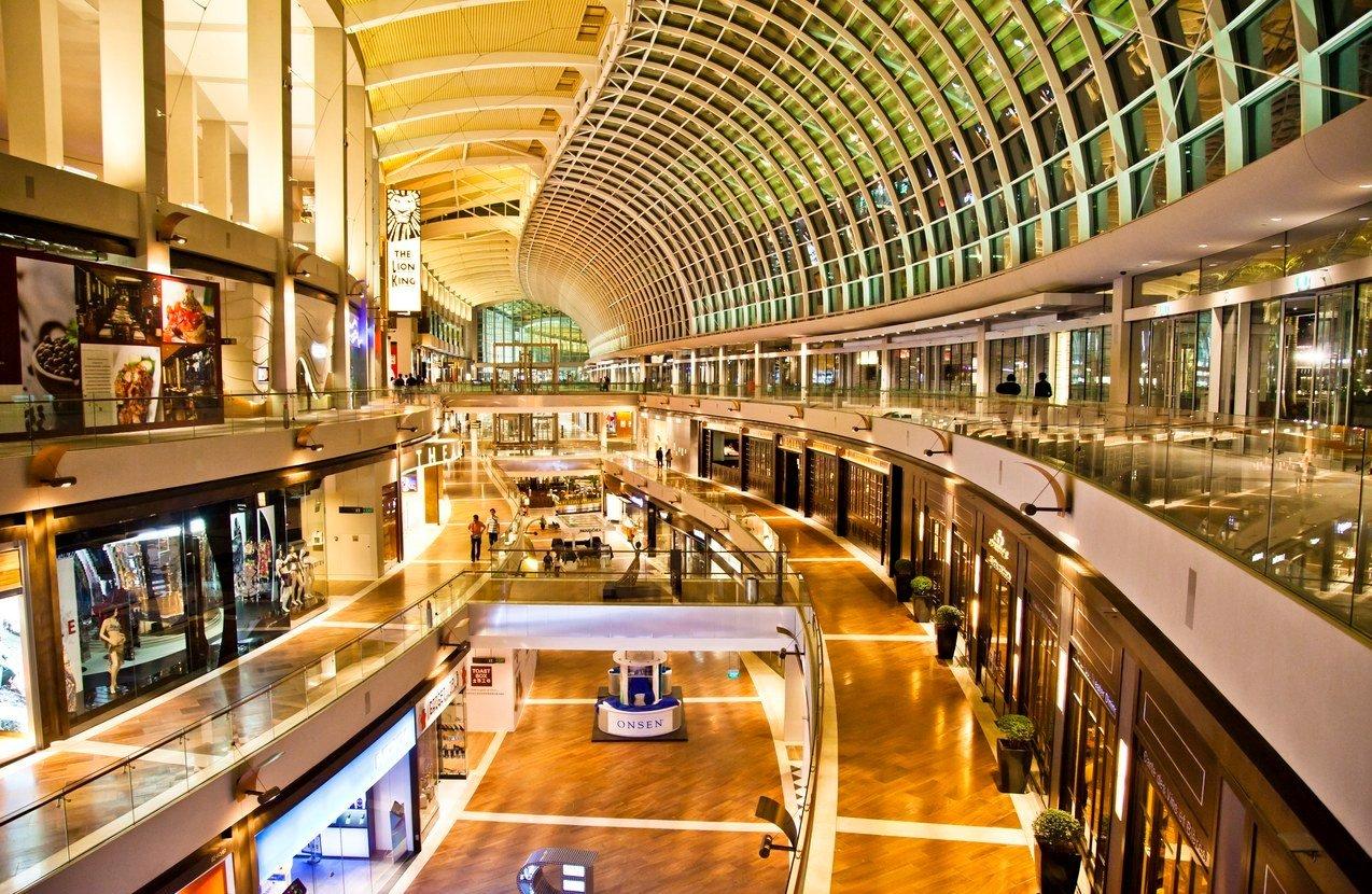 В прошлые выходные сократилась посещаемость торговых центров
