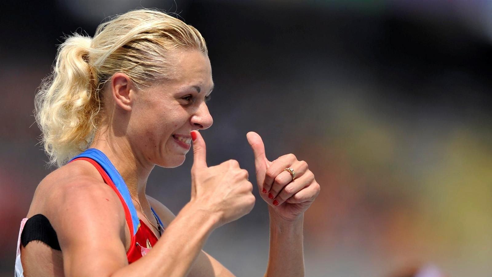 Русская легкоатлетка Чернова признала санкции IAAF идисквалифицирована на4 месяца