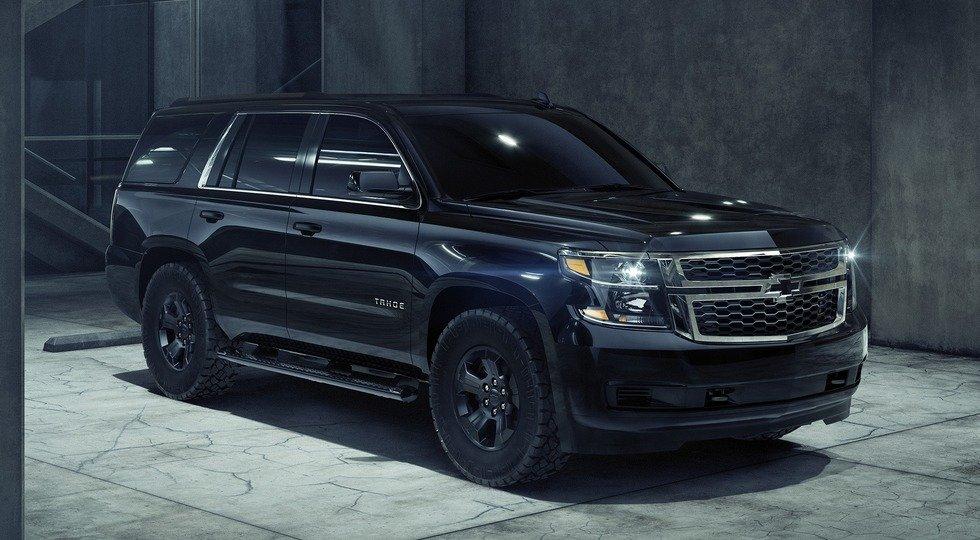 Chevrolet Tahoe Custom получил'полуночную версию Midnight Edition