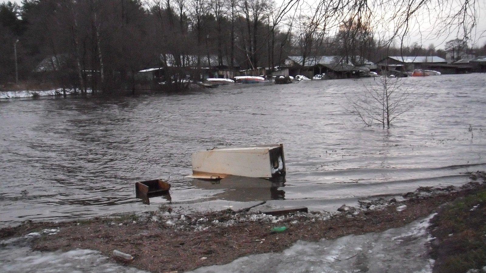 ВВолгоградской области затопило населенный пункт