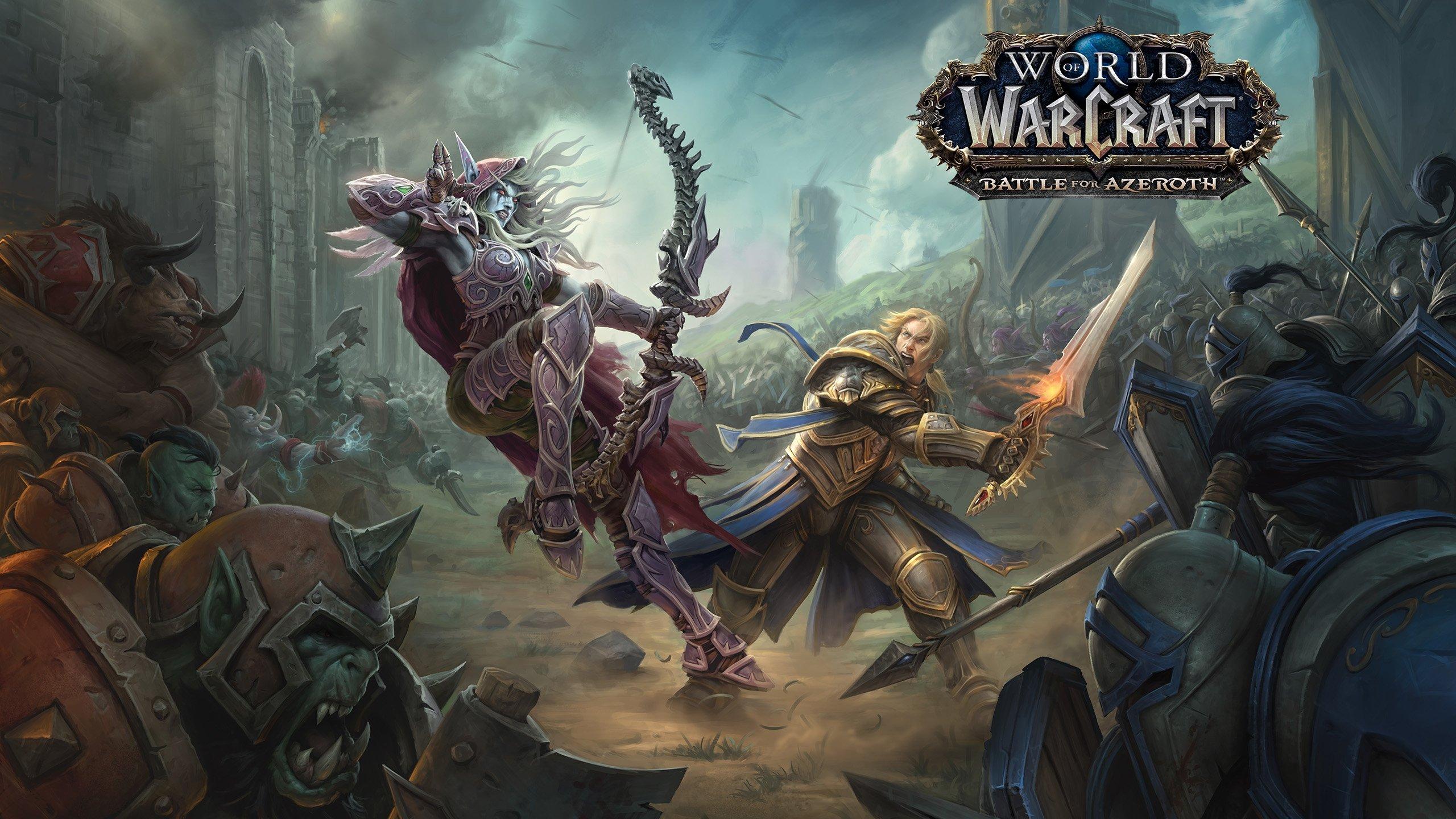 Аддон World ofWarcraft: Battle for Azeroth выходит вконце лета