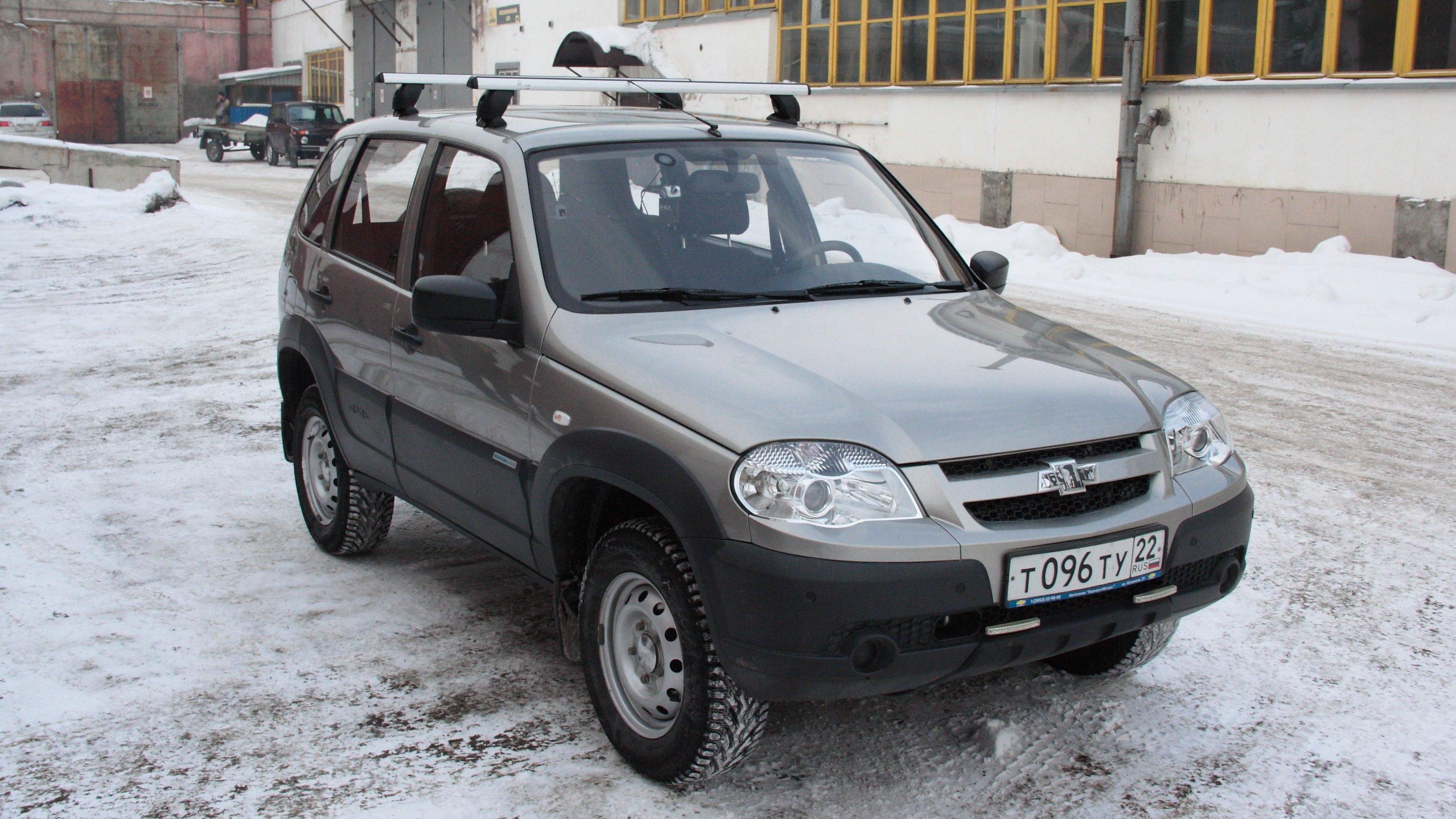 Общее предприятие GM-АвтоВАЗ приостановил производство джипов Шевроле Niva