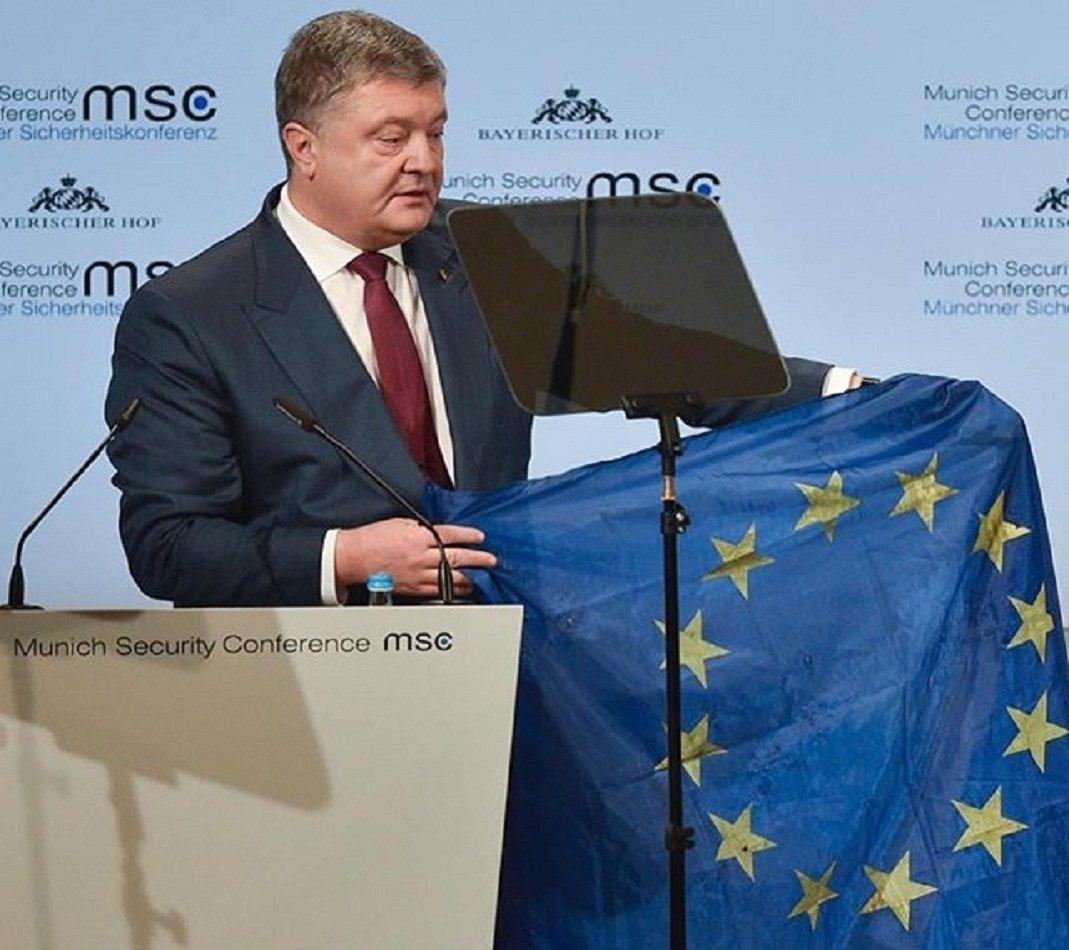 Порошенко призвал Германию пересмотреть отношение к«Северному потоку— 2»