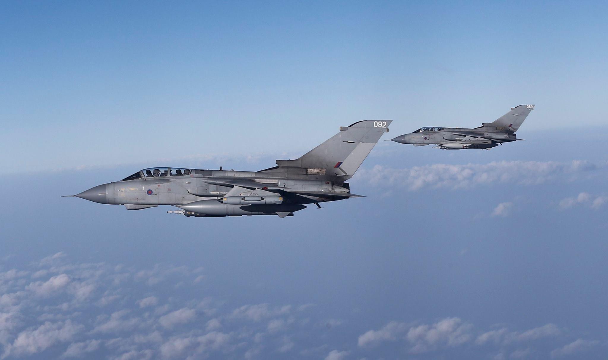 ВВС Великобритании готовы нанести удар поСирии