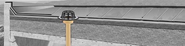 Водоотвод с плоской кровли: основные элементы и принципы устройства