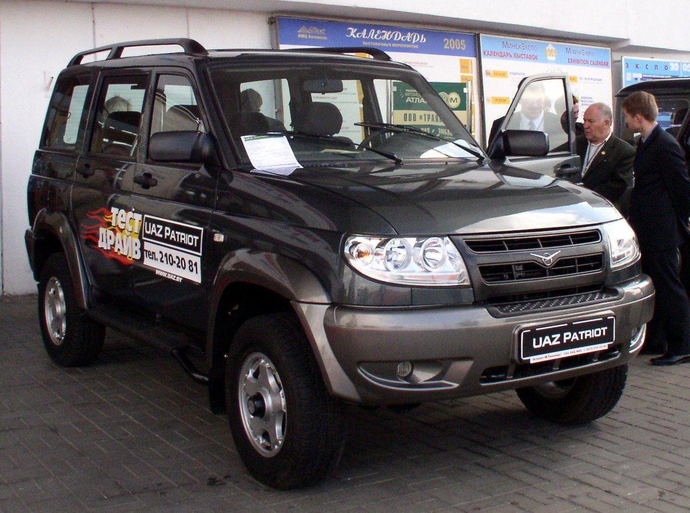 Владельцы УАЗ «Патриот» требуют отпроизводителя изменений вконструкции