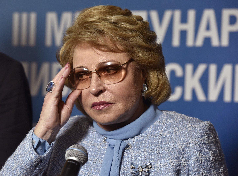 Матвиенко: Совфед принципиально поддерживает ответные меры РФ аадрес действий США