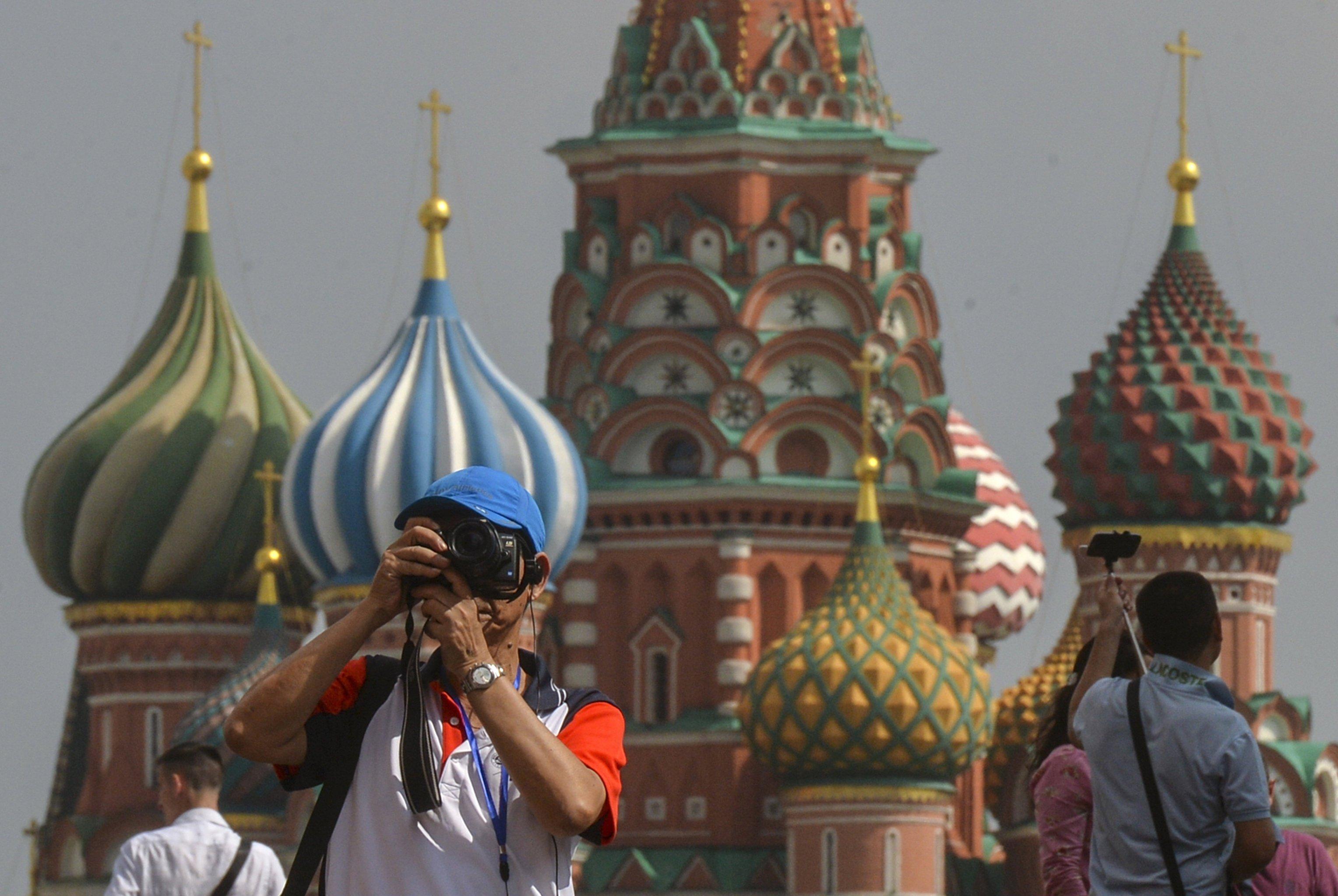 Число иностранных туристов в столице выросло на40% — Собянин