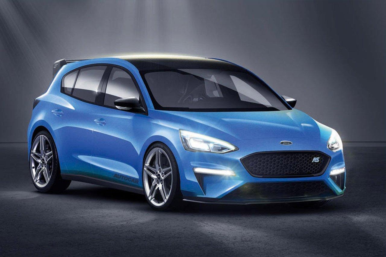 Появились рендеры обновленного поколения Форд FocusRS