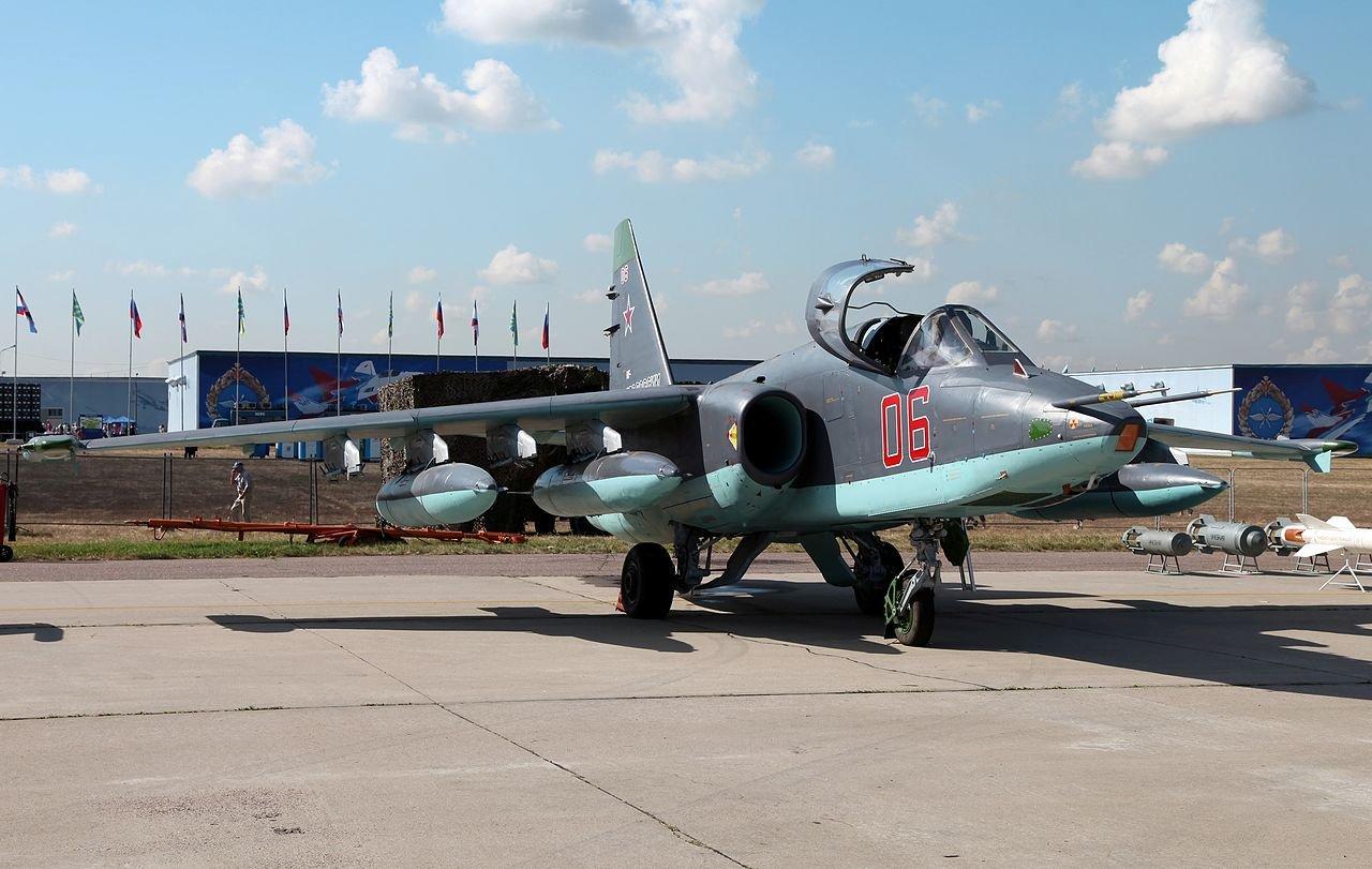 Шесть штурмовиков Су-25СМ3 пополнили авиачасть наКубани