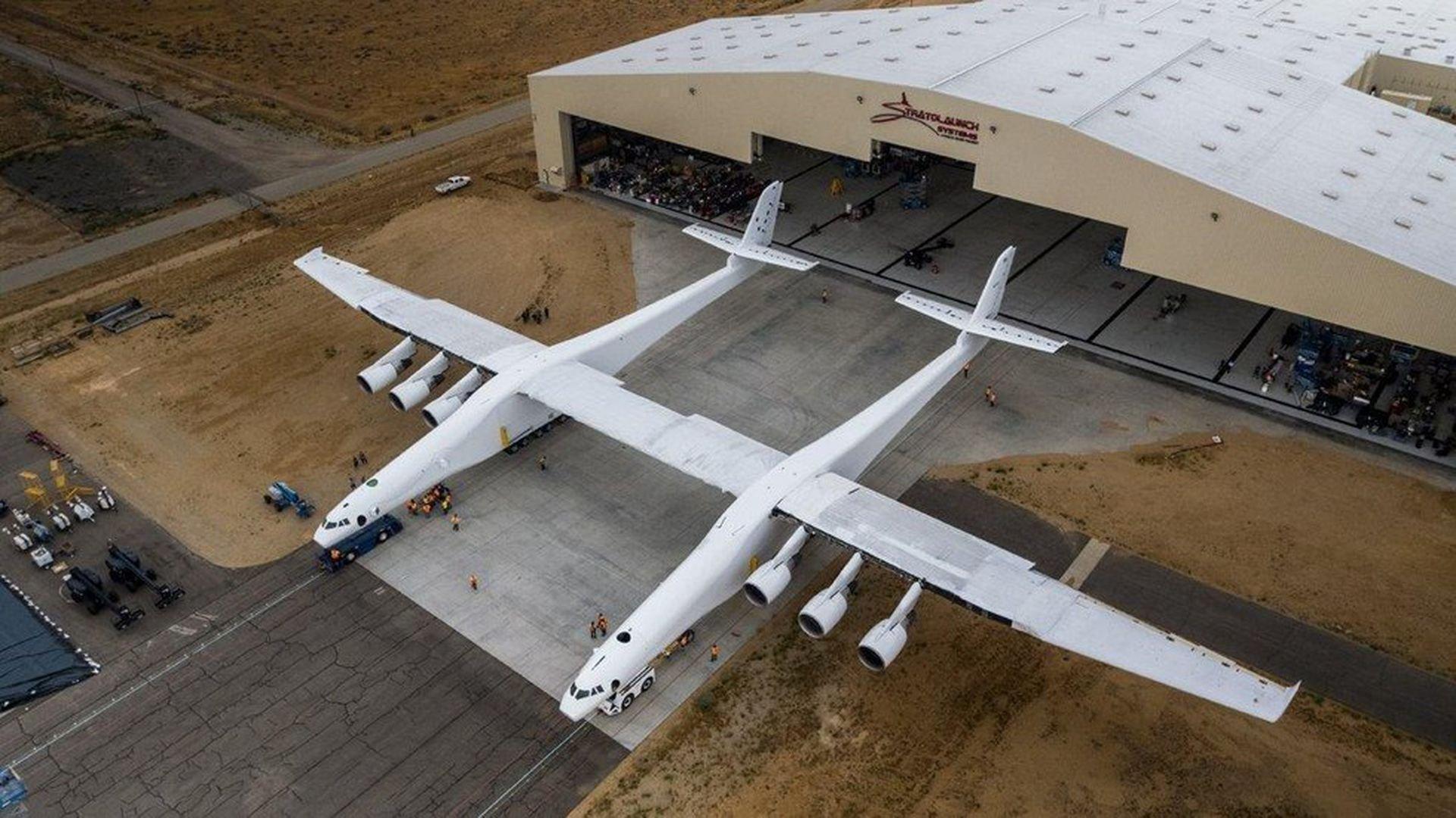 ВСША поведали, когда самолет-гигант взлетит навоздух