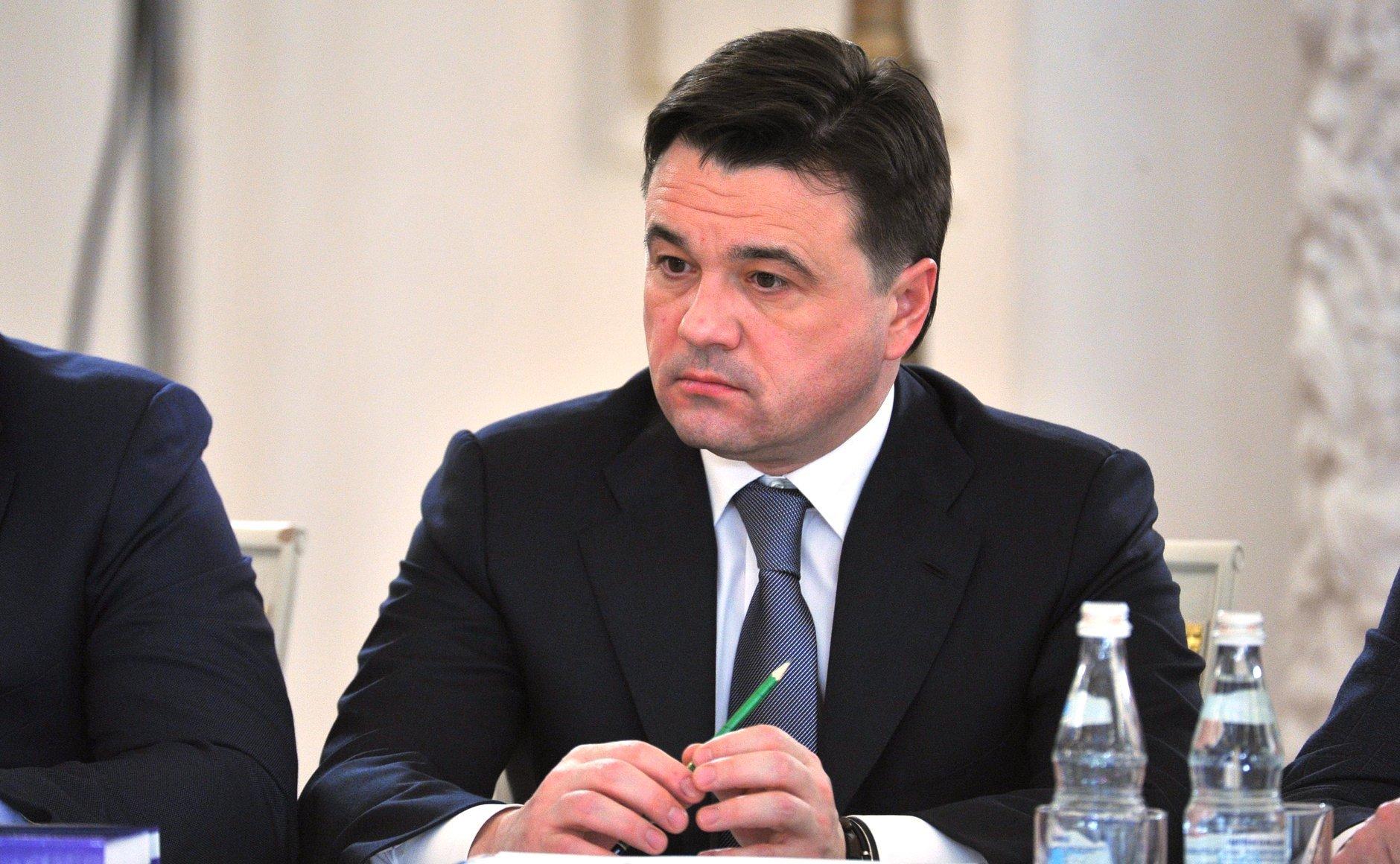 Доходы губернатора Московской области загод упали практически вдвое