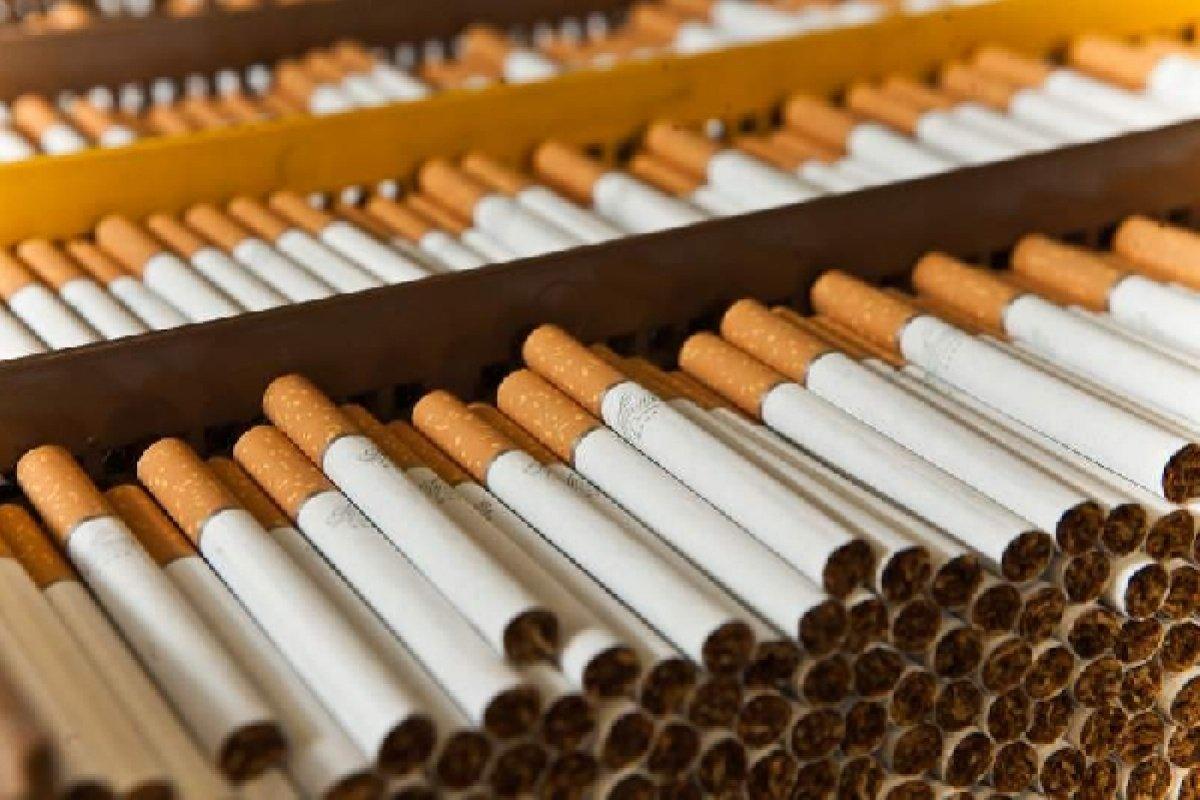 В этом 2018г. количество реализованных поддельных сигарет составит приблизительно 20 млрд.