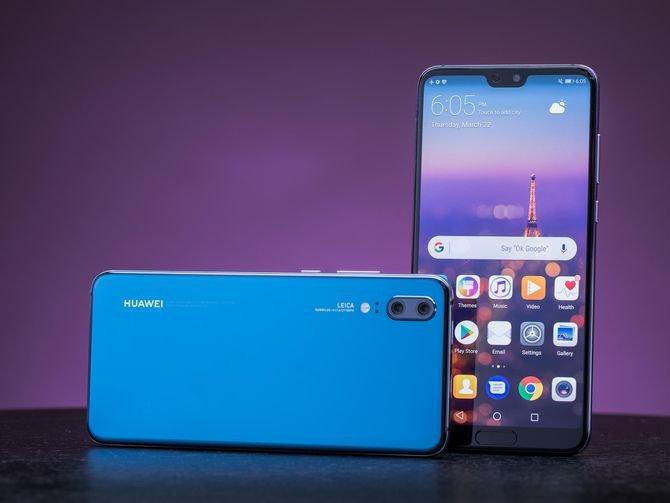 Новый смартфон Huawei P20 Pro признан лучшим камерофоном 2018 года