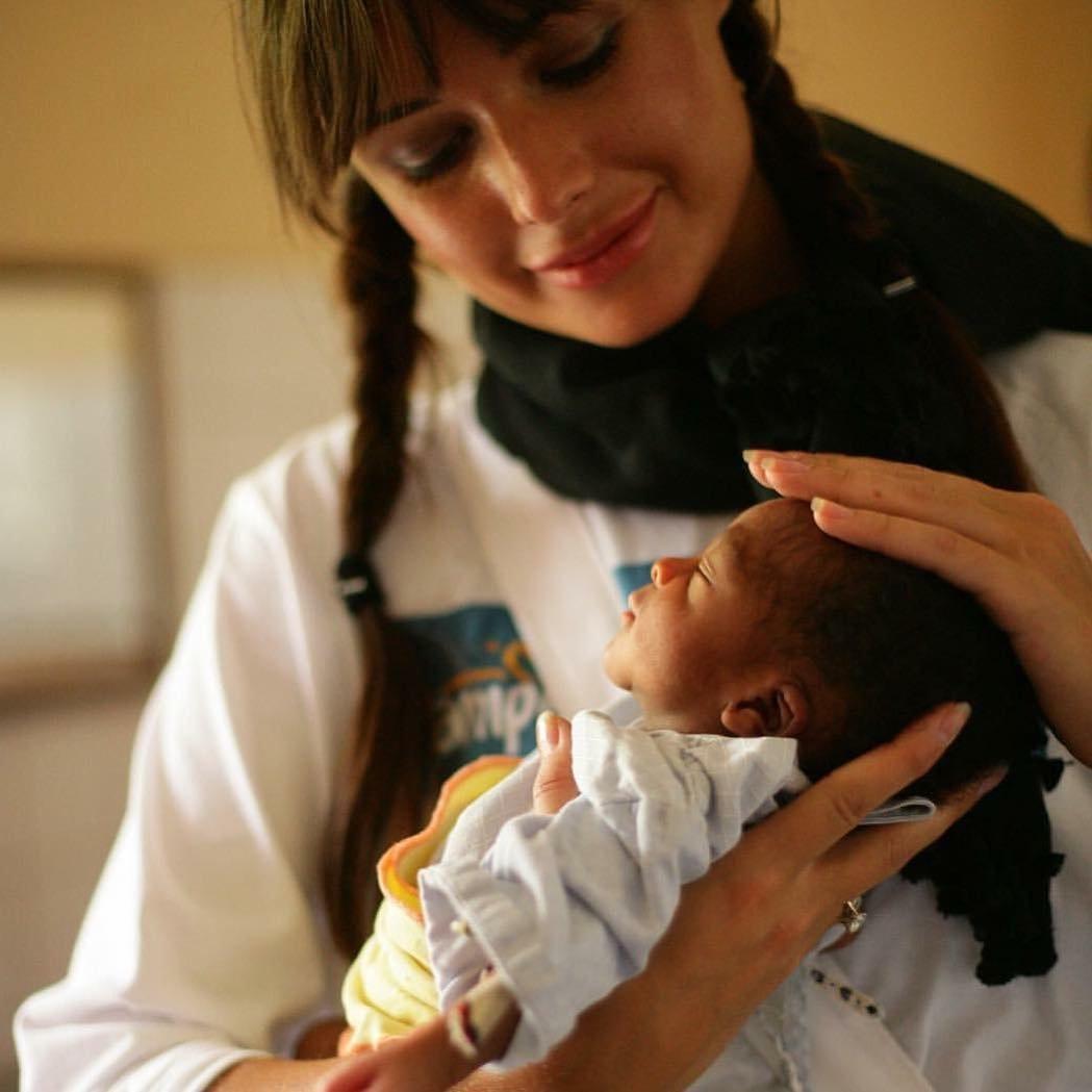 Федорова с ребенком фото