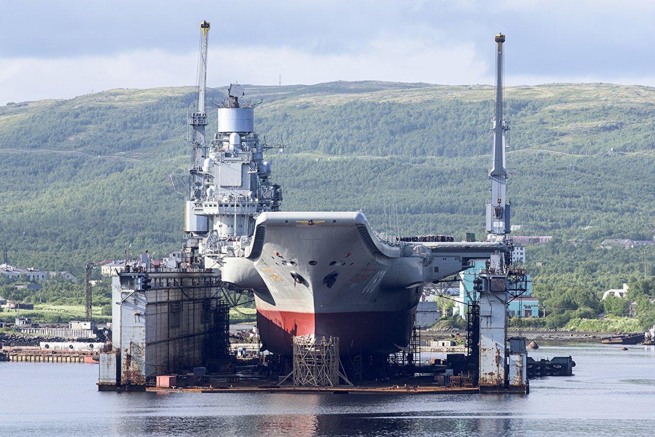 Авианосец «Адмирал Кузнецов» снабдят комплексами «Панцирь»