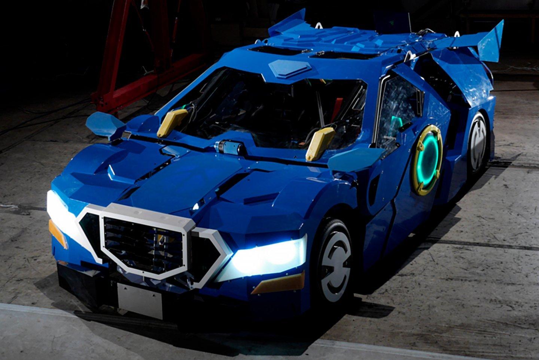 ВЯпонии создали робота, способного трансформироваться вавтомобиль