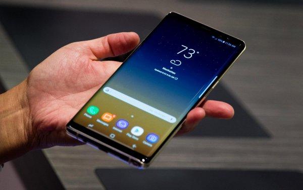 Samsung Galaxy Note 9 сможет распознавать пользователей по дыханию