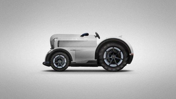Porsche разрабатывает мощнейший электрический трактор