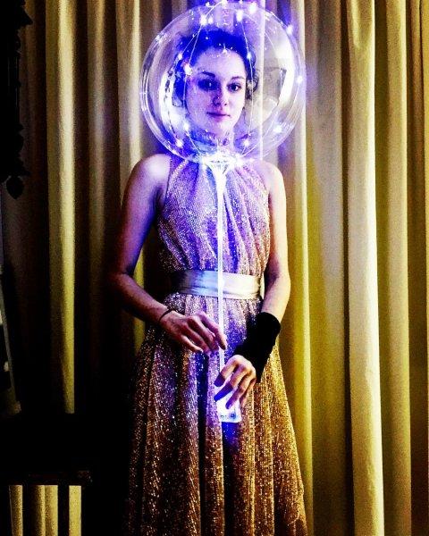В интернете обсуждают необычное платье Толкалиной