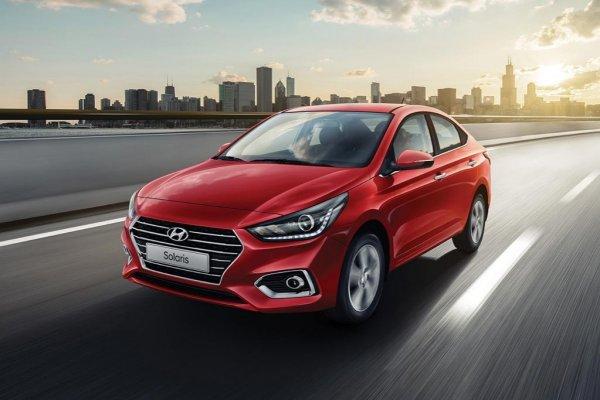 Hyundai Solaris в марте снова стал лидером продаж бренда в России