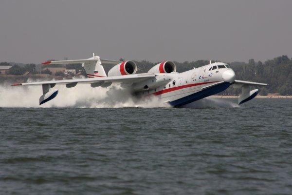 Самолет-амфибия присоединился к силам МЧС Хабаровска